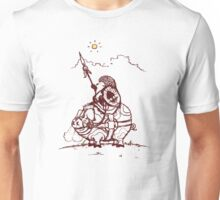 Nature Warriors: Battle Hedgehog Unisex T-Shirt