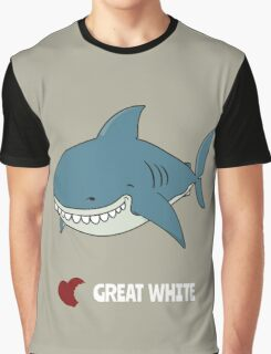 Love Great white Graphic T-Shirt