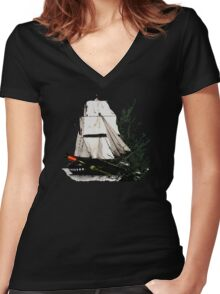 When All Hope Is Lost  Women's Fitted V-Neck T-Shirt