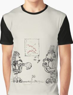 Meanwhile,at the office... Graphic T-Shirt