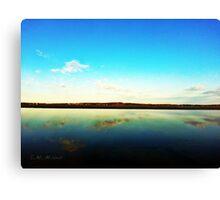 Lake Le Homme Dieu Canvas Print