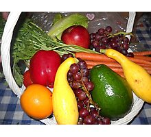Healthy Food For All Photographic Print