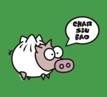 Dim Sum Pig - Char Siu Bao Baby Tee