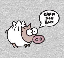 Dim Sum Pig - Char Siu Bao One Piece - Long Sleeve