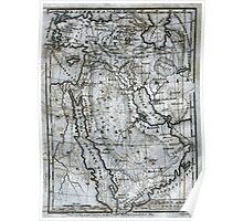 Map: Turkey, Arabia, Persia Poster