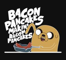 Bacon Pancakes - Adventure Time Baby Tee