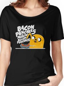 Bacon Pancakes - Adventure Time Women's Relaxed Fit T-Shirt