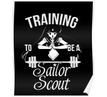 Training to be a Sailor Scout (Mars) Poster