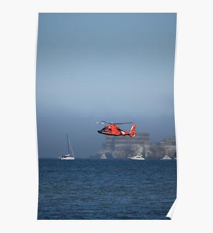 US Coast Guard Rescue Demo Poster
