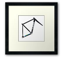 Cinelli Mash Histogram Framed Print