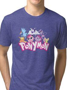 PonyMon: Friendship is captivation! Tri-blend T-Shirt
