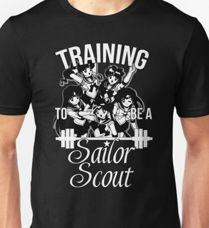 Training to be a Sailor Scout (Group) Unisex T-Shirt