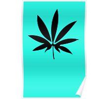 Weed Cannabis Marijuana Poster