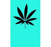 Weed Cannabis Marijuana Photographic Print