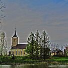 Võnnu St Jacob's Church of the Estonian Evangelical Lutheran Church by Irina777