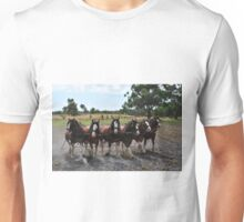 Team of 6 Horses Unisex T-Shirt