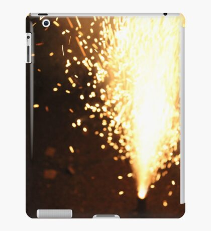 Sparks Fly in the Night iPad Case/Skin