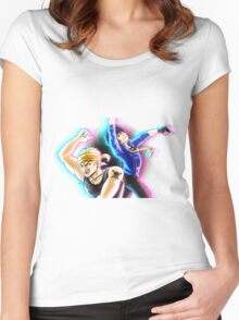 BEST FRIENDS (Persona 4) Women's Fitted Scoop T-Shirt