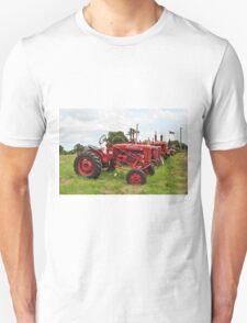 Row of Tractors Unisex T-Shirt