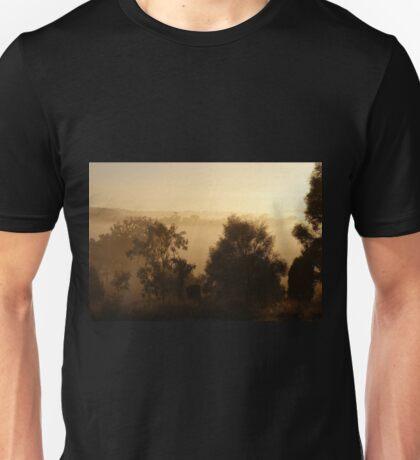 fog at dawn ~ near Gulgong NSW T-Shirt