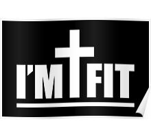 I'm Cross Fit Poster