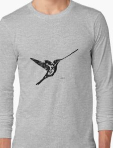 Hummingbird Sword Billed 13H Long Sleeve T-Shirt