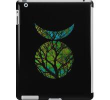 Green Horned God Symbol iPad Case/Skin