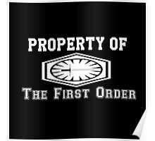 Property of The First Order Poster