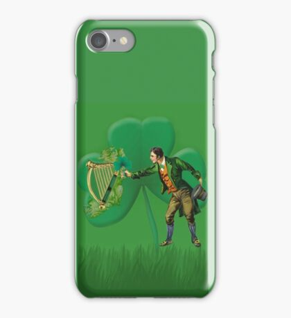 ❁◕‿◕❁ OLD IRELAND I BID THEE THE TOP OF THE MORNIN ❁◕‿◕❁  iPhone Case/Skin