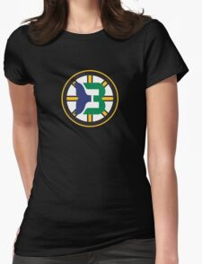 Boston Whalers - Hartford Bruins Womens Fitted T-Shirt