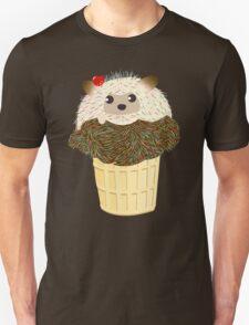 Porcupine Ice Cream Cone  Unisex T-Shirt