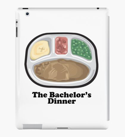 Funny Bachelors Dinner Frozentv Entree iPad Case/Skin