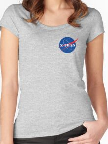 The Nasa Files  Women's Fitted Scoop T-Shirt