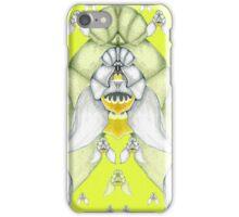 Cephalanthera longifolia iPhone Case/Skin