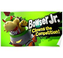 Bowser Jr. Clows the Competition! Poster