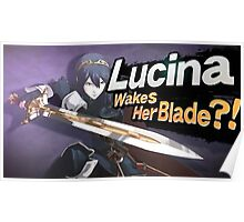 Lucina Wakes Her Blade?! Poster