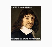 Apology from Descartes Unisex T-Shirt