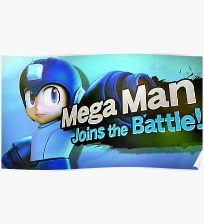 Megaman Joins the Battle! Poster