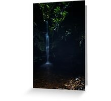 Dark Oasis  Greeting Card