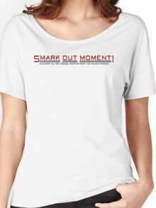 Smark Out Moment Logo (Red) Women's Relaxed Fit T-Shirt