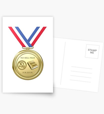 No-Bell Prize for Book Greeting Card