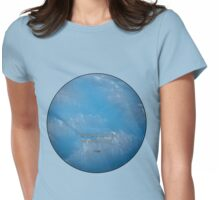 Touch the sky, Rumi Womens Fitted T-Shirt