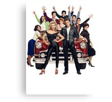 GREASE LIVE Canvas Print