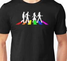 Abbey Pride white Unisex T-Shirt