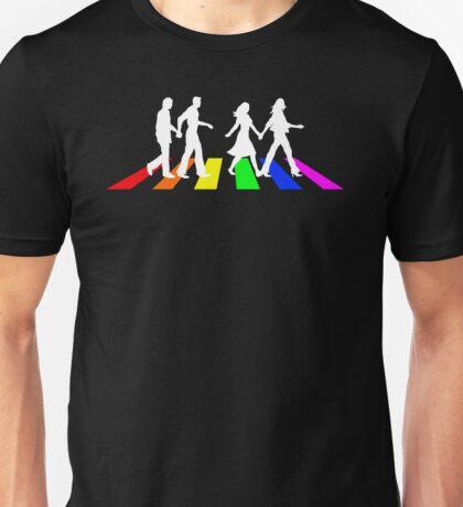 Abbey Pride white Unisex T-Shirt