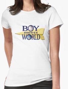 Boy Meets World Womens Fitted T-Shirt