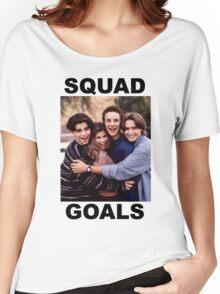 Boy Meets World Squad Goals Women's Relaxed Fit T-Shirt
