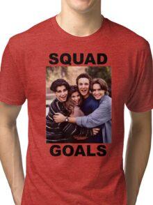 Boy Meets World Squad Goals Tri-blend T-Shirt
