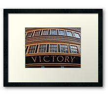 Victory Framed Print