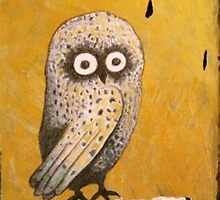 Wise Little Owl by Redlady